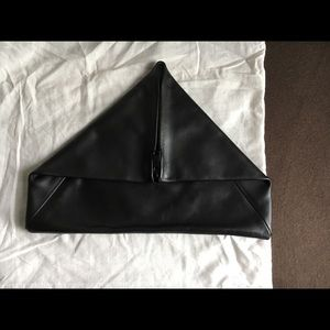 COS leather origami clutch! NEW